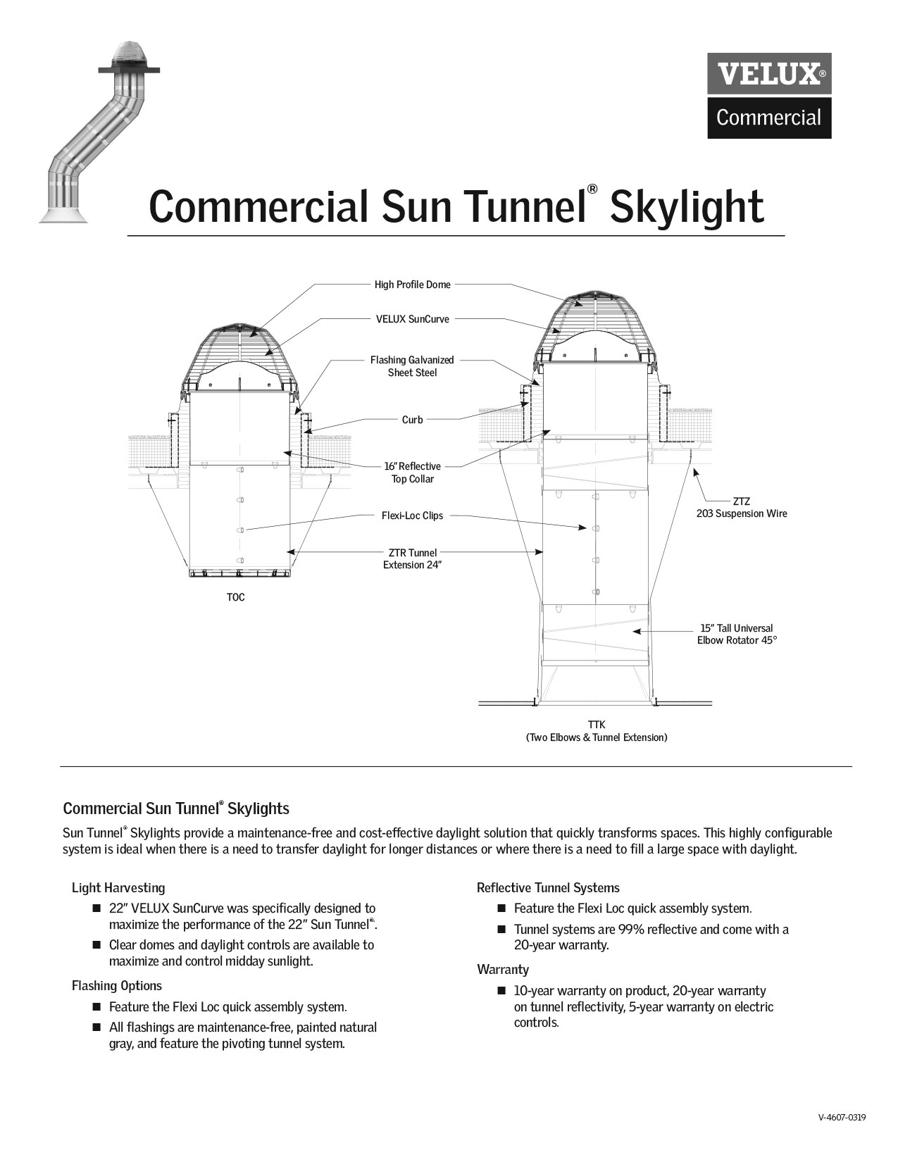 Commercial Sun Tunnel Technical Guide