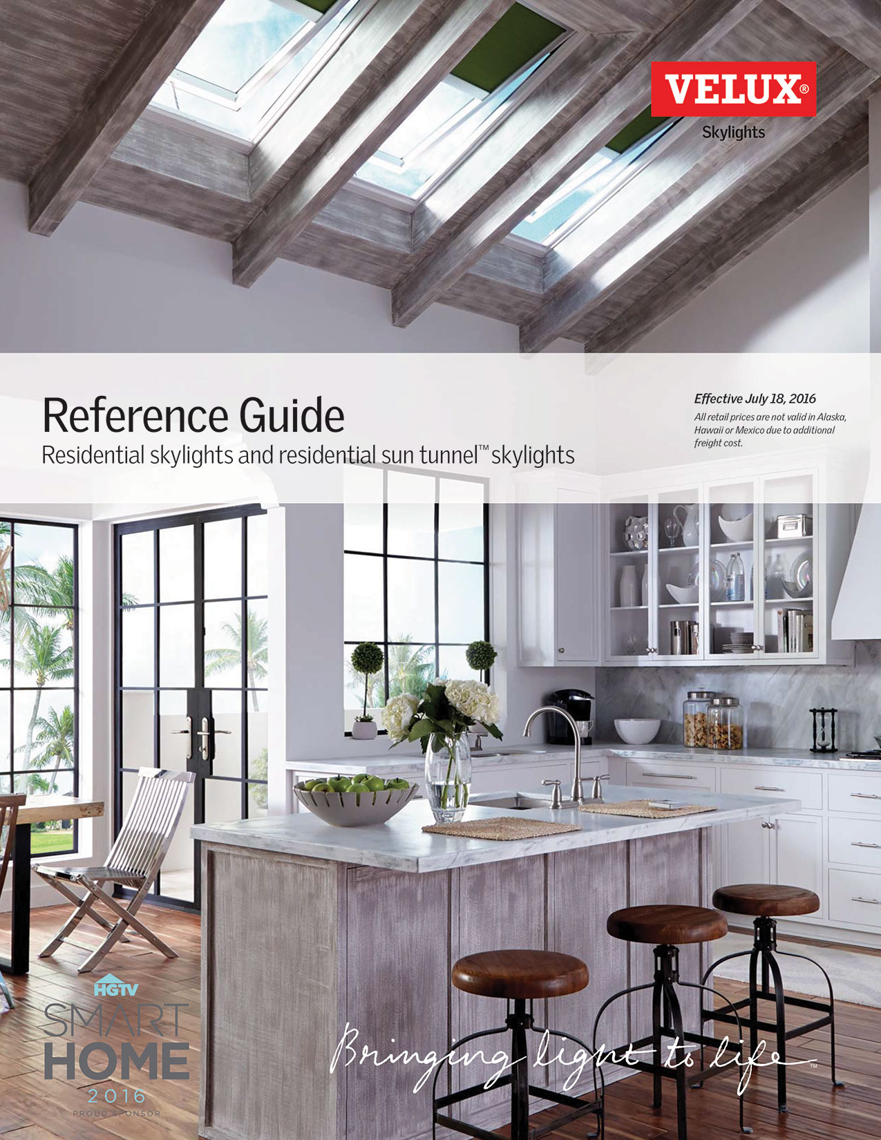Skylight reference guide brochure