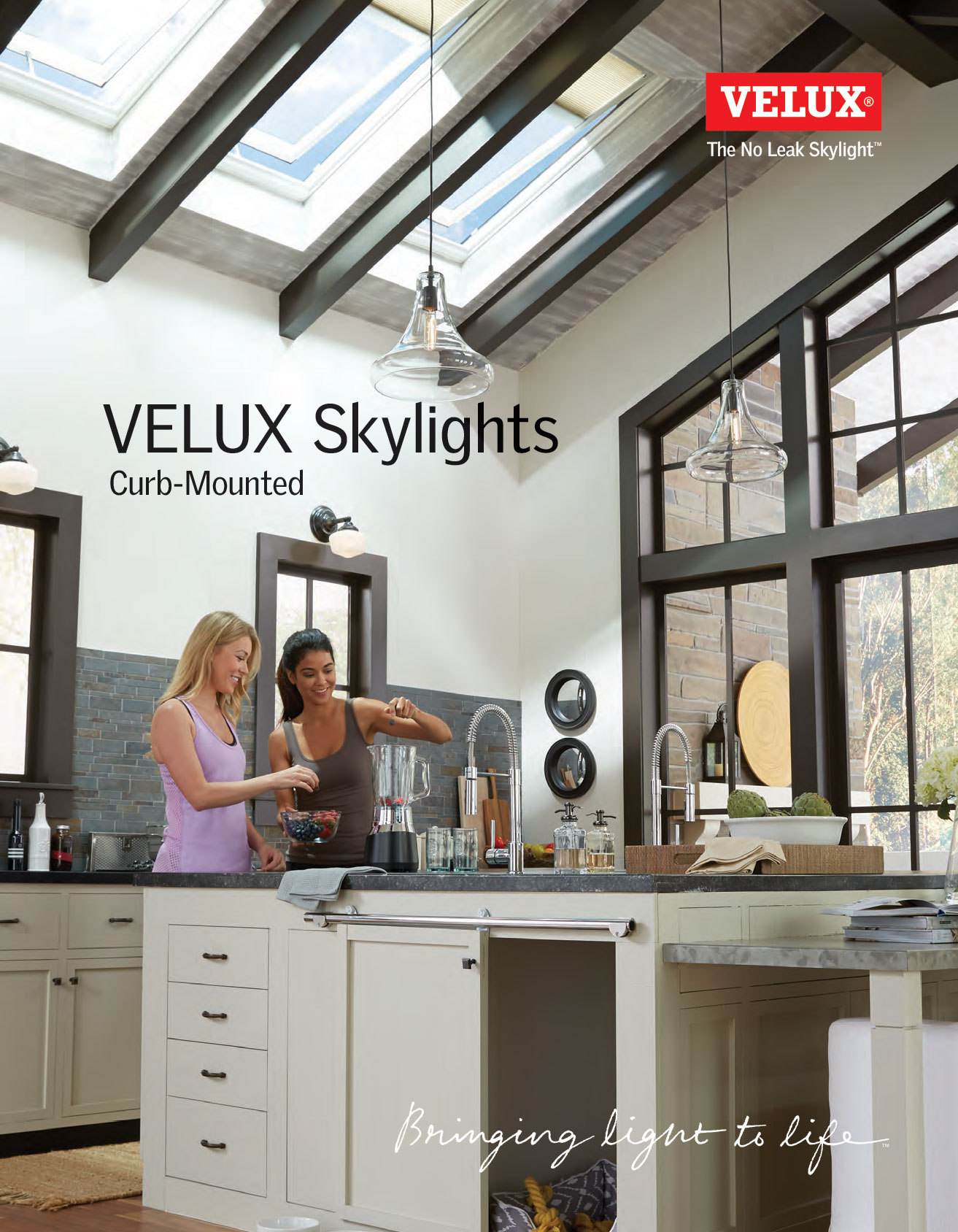 Brochure on curb mounted skylight